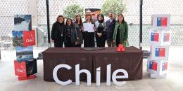 Imagen de las autoridades de turismo de Chile en el marco de la actividad COP25