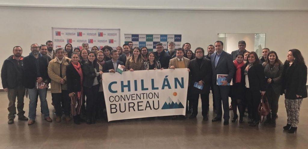 Imagen del equipo del Convention Bureau Chillán