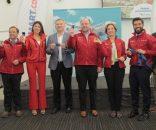 Imagen de autoridades y empresarios de Jetsmart en Antofagasta