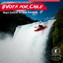 Imagen de un hombre descendiendo en kayak en uno de los ríos del sur de Chile