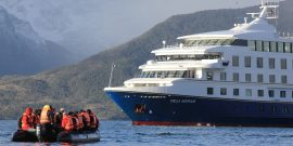 Imagen del crucero Stella Australis
