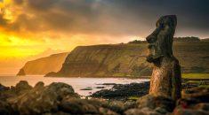 Imagen de los Maoi de Rapa Nui