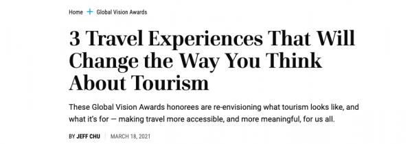 Títular noticia - Travel + Leisure