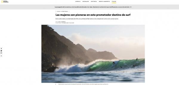 Olas playa Pichilemu - National Geographic