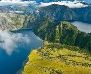 Vista aerea parque nacional corcovado ruta de los parques