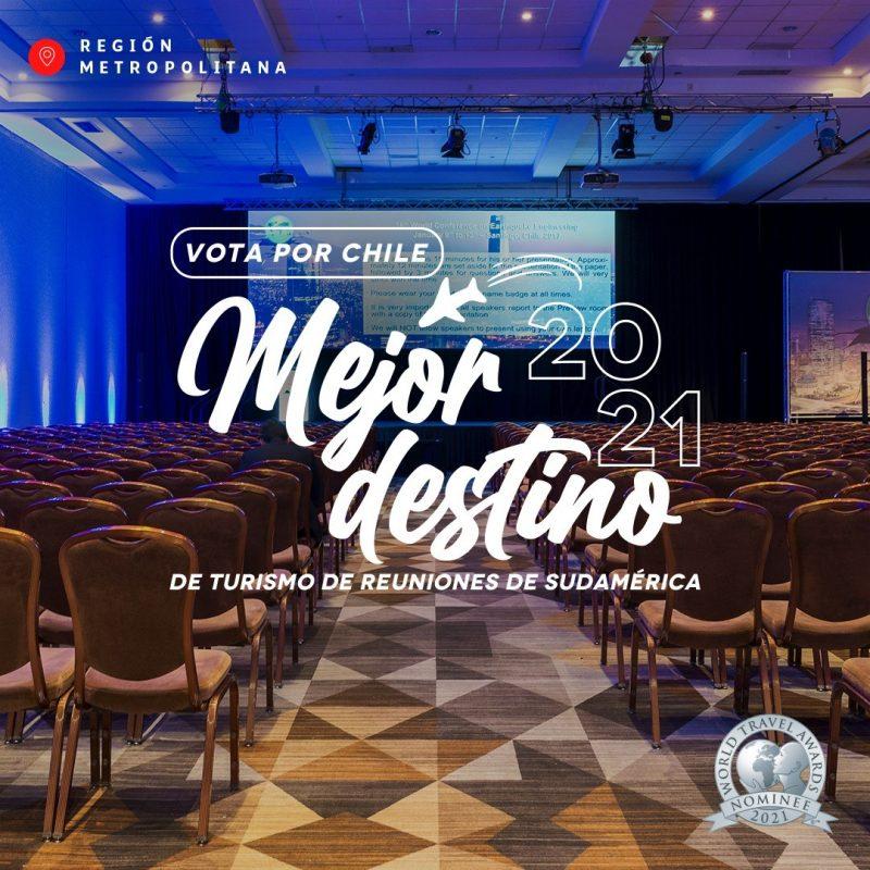 Gráfica promocional de nominación de Santiago