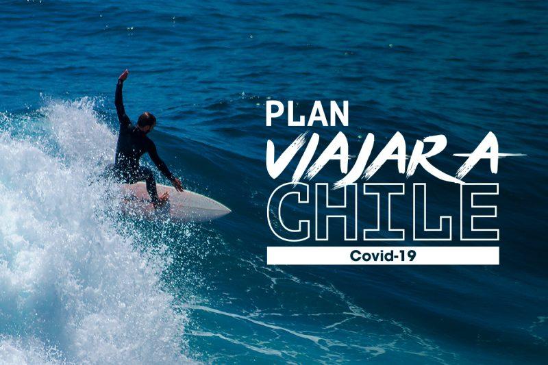 Imagen de un hombre haciendo surf en Chile