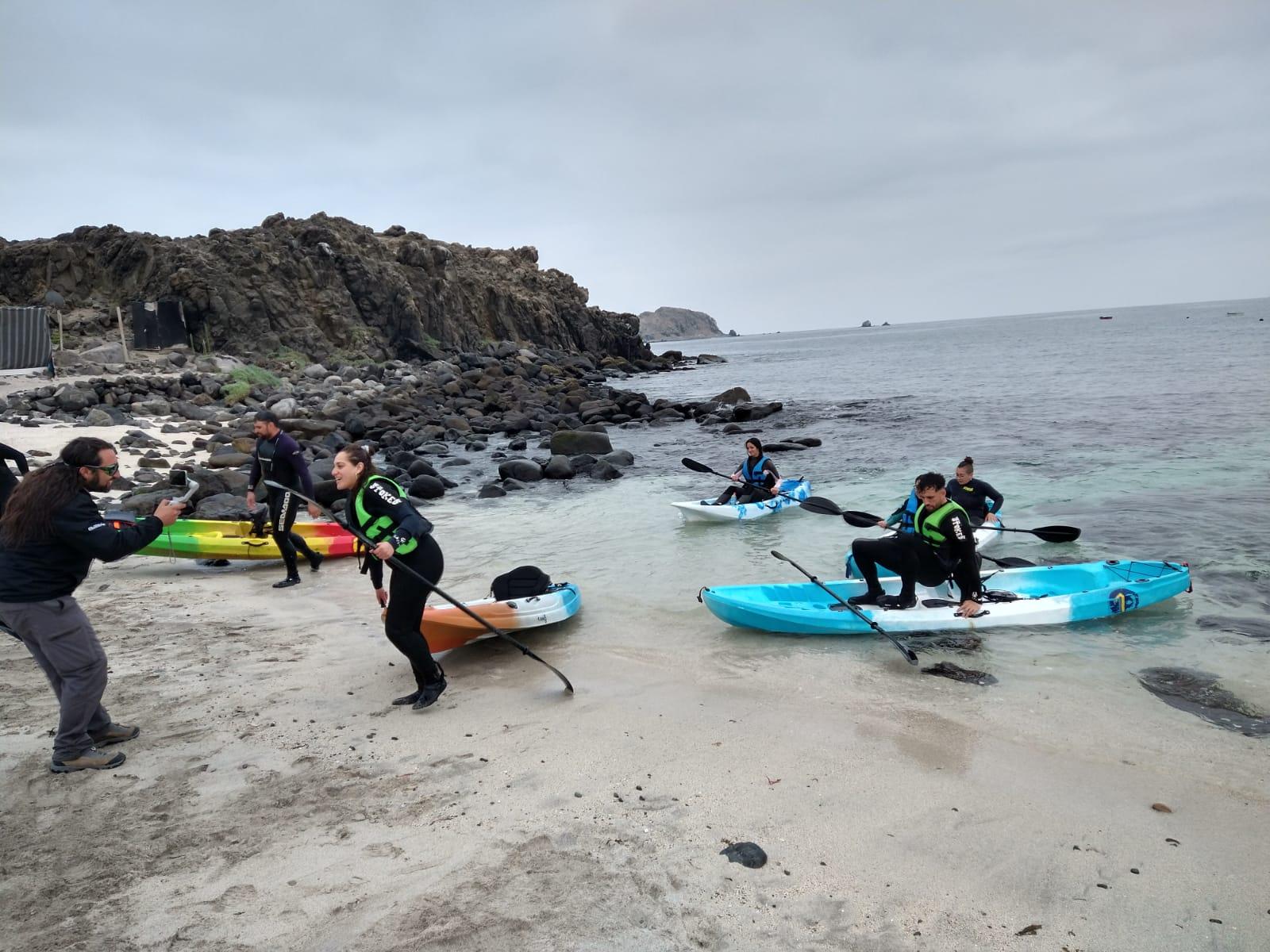 kayak en Bahía Inglesa